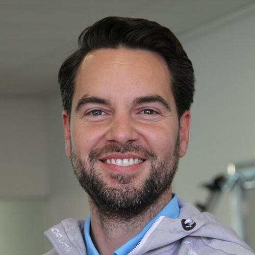 Bob van den Wijngaard | mede-eigenaar, fysiotherapeut, master manuele therapie